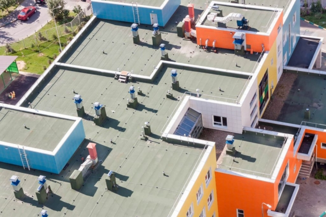 Flat Commercial Roofing Miami Fl 1a