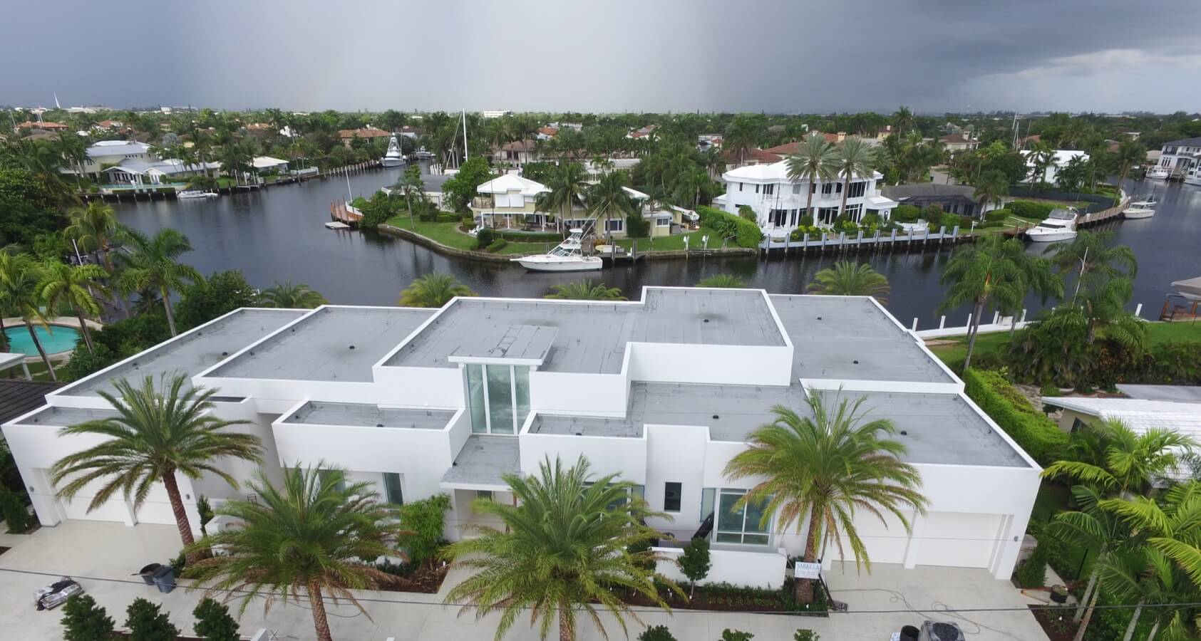 Residential Flat Roofing Miami 1